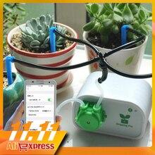 Controlador de riego automático inteligente para jardín Dispositivo de riego por goteo para plantas de interior, bomba de agua, sistema con temporizador