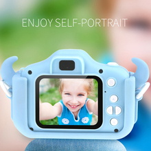 2.3 Inch HD Screen Chargeable Cartoon Digital Camera Baby Toys Photography Props Birthday Gifts Children Goods Educational Toys