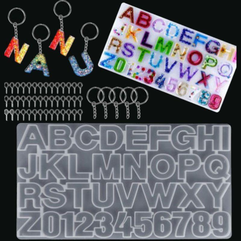 Новинка 2020, искусственный алфавит, зеркальное литье, инструменты для изготовления ювелирных изделий