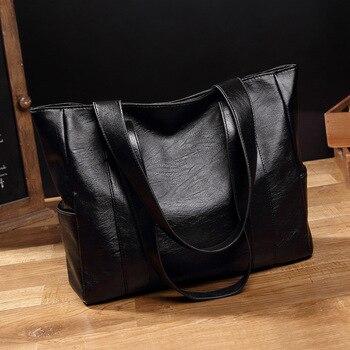 Embossing Leather Shoulder Bag 1