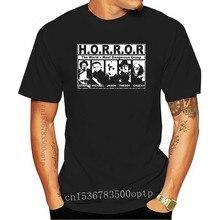 Horror Terror Men and Women T shirt Print T-shirt Fashion Brand Tops Tees cotton cmt