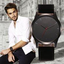 Популярные деловые мужские часы с большим циферблатом модные