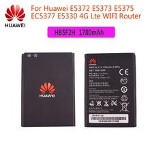 Original Battery 3.7V 1780mAh HB5F2H For Huawei E5372 E5373 E5375 EC5377 E5330 E5336 E5351 E5356 EC5377U-872 E5356S-2 E5330Bs-2 original replacement battery for huawei e5336 e5330 e5375 ec5377 e5373 4g lte wifi router hb5f2h authenic battery 1780mah