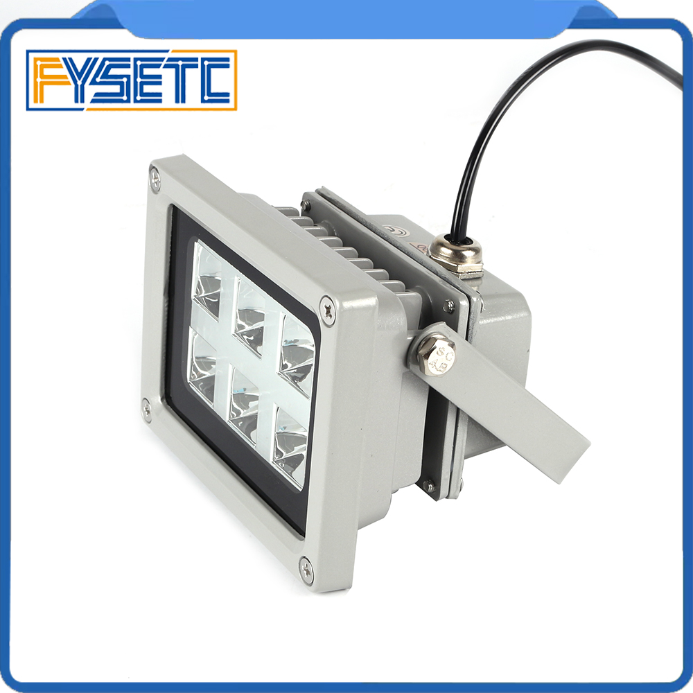 Image 5 - High Quality 110 260V 405nm UV LED Resin Curing Light Lamp for SLA DLP 3D Printer Photosensitive Accessories Hot sale3D Printer Parts & Accessories   -