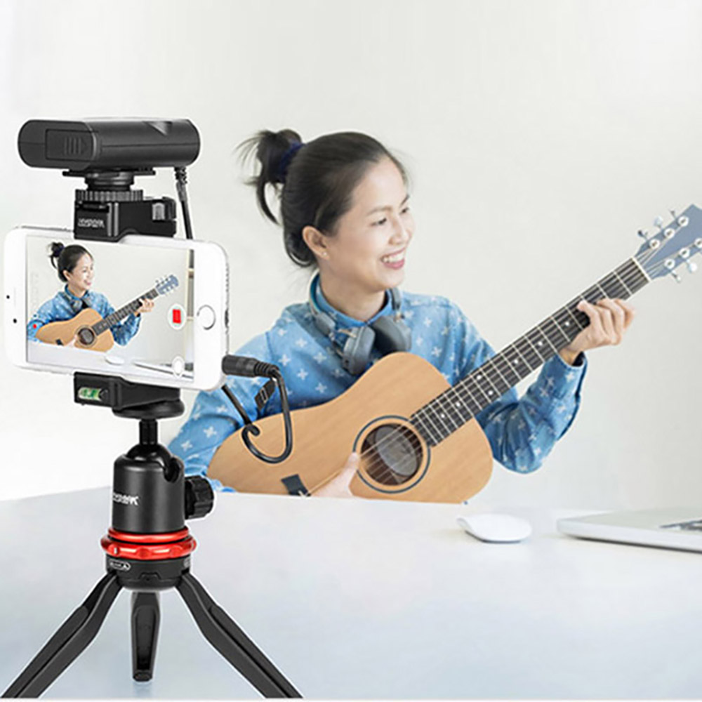 Image 4 - RU Stock Boya BY WM4 Mark II/BY WM4 Pro Wireless Studio Condenser Microphone Lavalier Lapel Interview Mic for iPhone DSLR Camera-in Microphones from Consumer Electronics