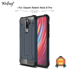 For Xiaomi Redmi Note 8 Pro Case Shockproof Armor Hard Phone Cover