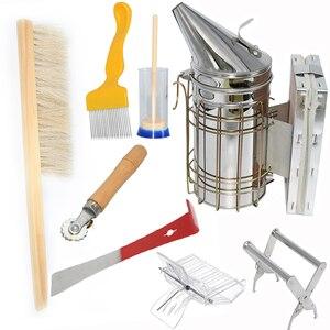 8 шт., набор инструментов для пчеловодства из нержавеющей стали для пчеловодства
