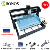 CNC 3018 Pro+Offline Laser Engraver Wood DIY CNC Router Machine ,Pcb Milling Machine,Wood Router,GRBL Control,Craved On Metal