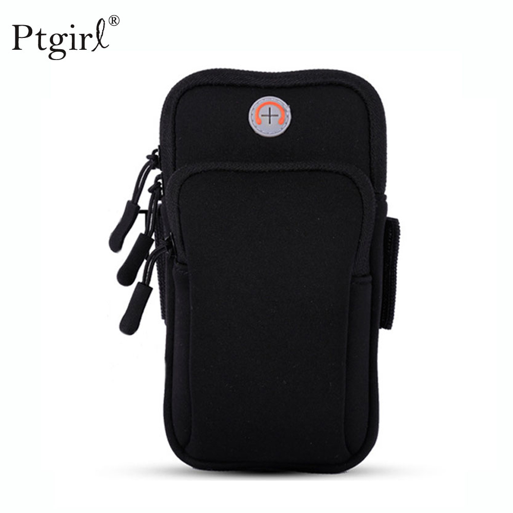 Universal Mobile Phone Bags Holder Outdoor Sport Arm Pouch Bag For Phone On Hand Sports Running Armband Bag Case Waterproof Bag