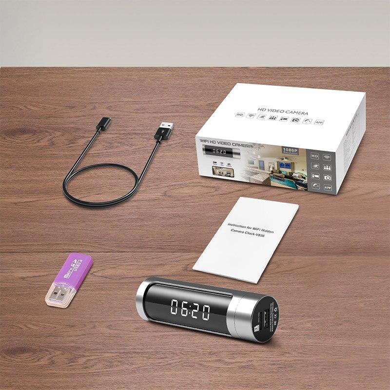 Full HD 1080 Wifi часы мини камера ночного видения P2P IP секретная камера Обнаружение движения микро DVR камера беспроводная безопасность мини камера - 6