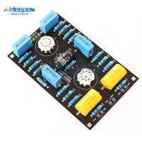 Placa preamplificadora de tubo de circuito clásico, kit DIY para tubo 12AX7/12AU7, DC 180-300V + DC 12V, última versión