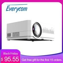 Yeni HQ3 WiFi projektör Video projektör Everycom HQ2 3000 Lumi HD 1280*720P LED ev sineması Beamer proyector Portatil