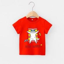 T-Shirts Kids Baby-Boys Tees Boy Tops Dinosaur Children's Summer Cartoon Casual 4018