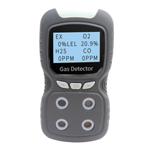 Gas-Detector-Analyzer CO H2S Oxygen-Monitor Digital Multifunctional O2 Toxic LCD 4-In-1