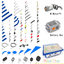 Technic Compatibel 9686 Diy 9656. Bouwsteen Onderdelen. Motor Accubak Hulp Set Voor Technologie Moc 9686. Compatibel Legoin Set.