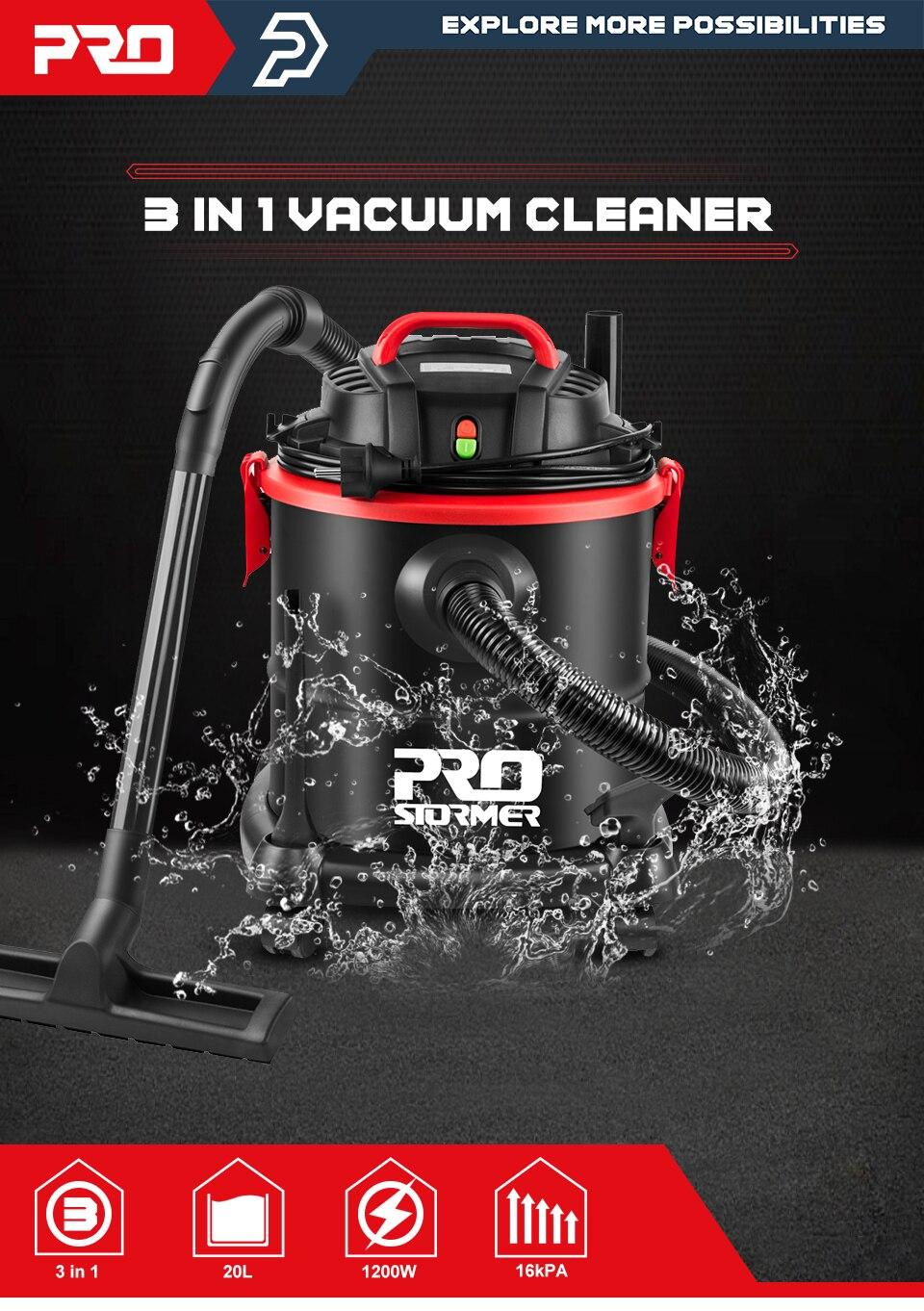 Household Vacuum Cleaner 3 in 1 Wet/Dry/Blower