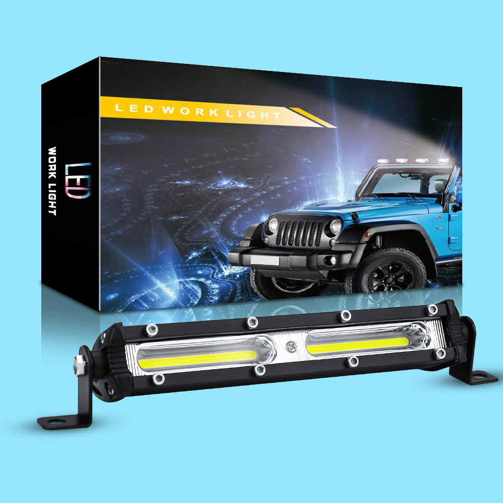 7inch 120w LED Work Light Bar Combo Beam Car Driving Lights For Off Road Truck 4WD 4x4 UAZ Motorcycle Ramp 12V 24V Auto Fog Lamp