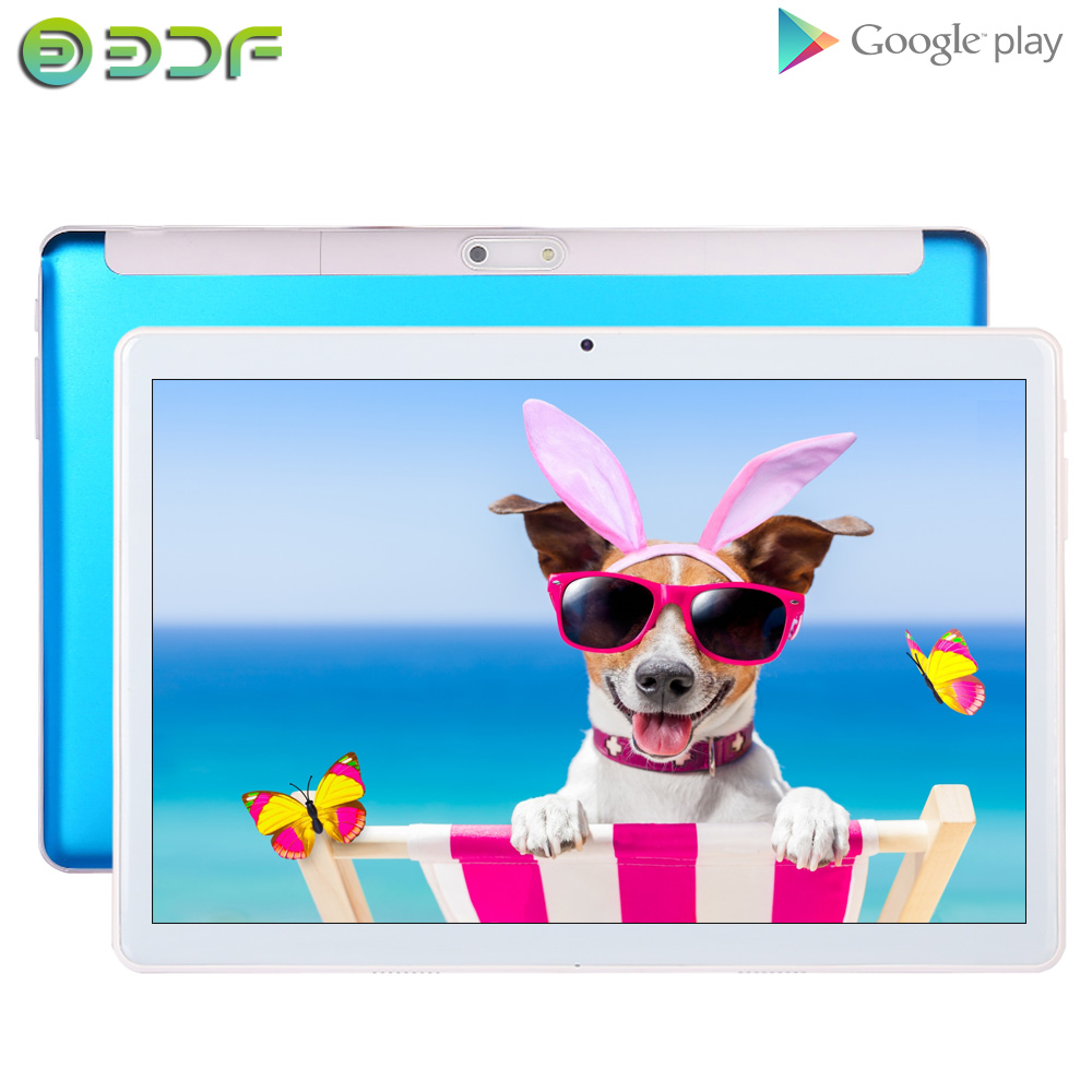 2020 New 10 Inch Android 7.0 Tablet Pc Dual SIM 3G Phone Call Dual Camera Google Market GPS WiFi Bluetooth 10.1 Inch Tab IPS FM