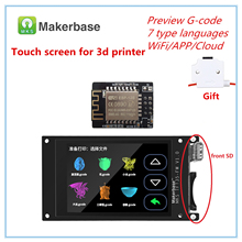 3d Printer Lcd Levert Mks TFT35 Touch Screen + 3d Printer Wifi Deel Monitor 3.5 Inch Lcd Panel 3.5 tft Kleurrijke Display