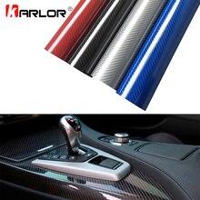 30x100cm 5D High Glossy Carbon Fiber Vinyl Wrap Film Auto Car Truck Interior DIY Decoration Sticker Car Styling Accessories