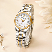 CARNIVAL Switzerland Brand Women Watches Luxury Ladies Fashion Waterproof Dress Quartz Wrist Watch Clock Woman Reloj Mujer 2020