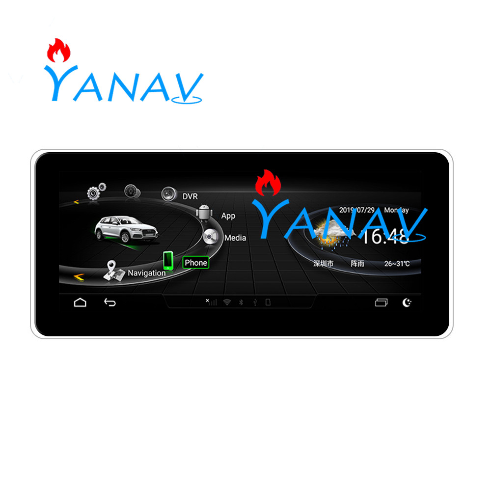 Multimedia player For-Audi A6 A7 2012-2018 HD Touch screen music player auto stereo car eight core Android Car GPS Navigation ca image