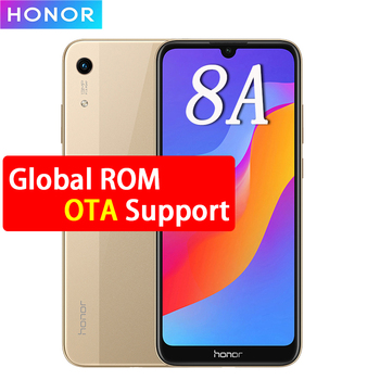 Honor 8A Smartphone 2GB/3GB RAM 32GB/64GB ROM Android 9.0 Octa-core Face ID 6.09'' Fullview 1560X720 4G LTE Ce ll Phone 1