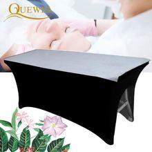 Quewel cubierta de cama para pestañas, láminas de belleza, mesa elástica, extensión de pestañas estirable, salón de belleza profesional, cosmética