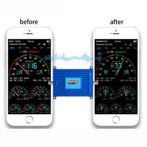 Image 4 - 4G LTE handy signal Repeater 2600MHz Signal Booster 70dBi Gain 2600 4G Lit Handy Signal verstärker mit lcd display
