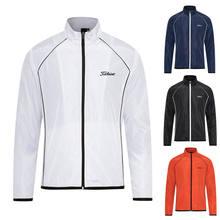 2021 autumn and winter new golf clothing men's windbreaker outdoor sports windproof warm jacket