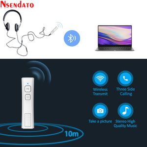 Image 5 - Pen Clip Bluetooth 5.0 Music Audio Receiver Mini 3.5mm Jack AUX Car Adapter Handsfree for Xiaomi for Photograph Headsets Speaker
