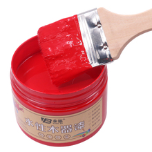 250g Red Acrylic Paint,Water-Proof&Mildew-Proof Water-Based Woodwork Paint Craft Paints for Home Furniture