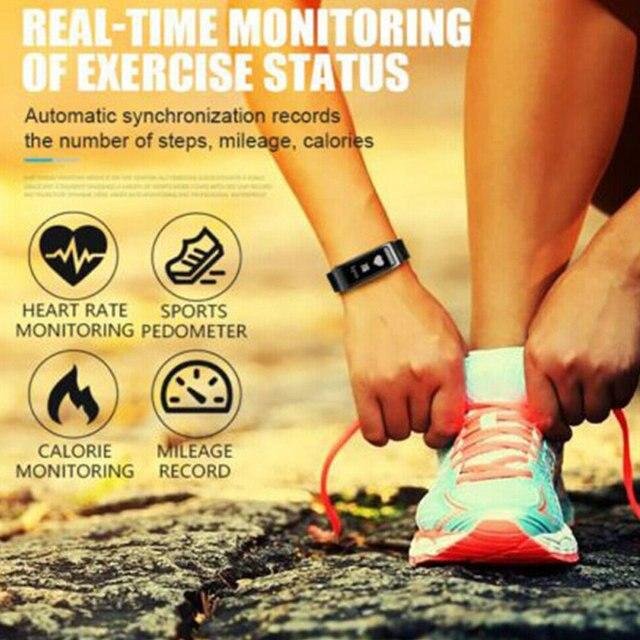 2 In 1 Smart Bracelet with Bluetooth  Earbuds HeartRate Monitor Waterproof Watch IJS998 3