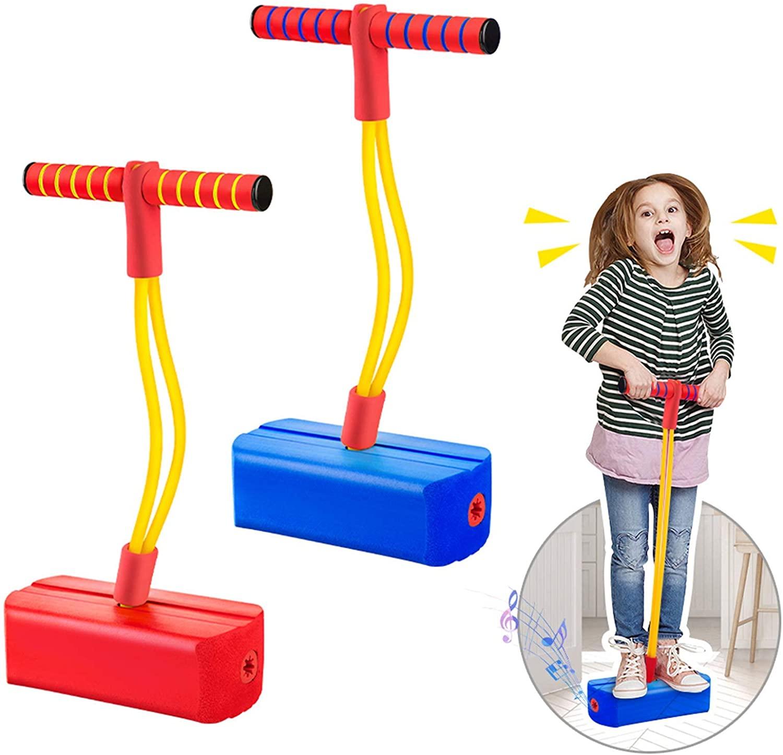 Espuma crianças brinquedos meninos saltando palafitas salto pólo simulador de salto das crianças pogo varas brinquedo educativo criança esportes brinquedos