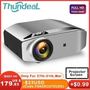 ThundeaL Full HD Native 1080P проектор TD96 проектор 6500 люмен светодиодный беспроводной WiFi мультиэкранный проектор 3D видео проектор