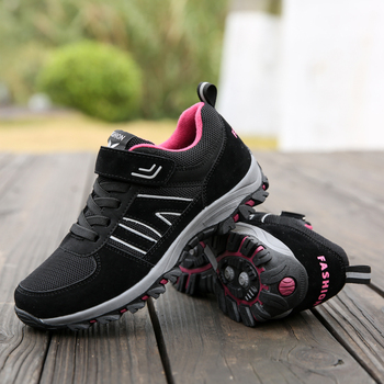 VEAMORS Outdoor Men Women Hiking Shoes Waterproof Breathable    Sneakers Anti-Slip Trekking Shoes Couples Mountain Climbing shoe 1