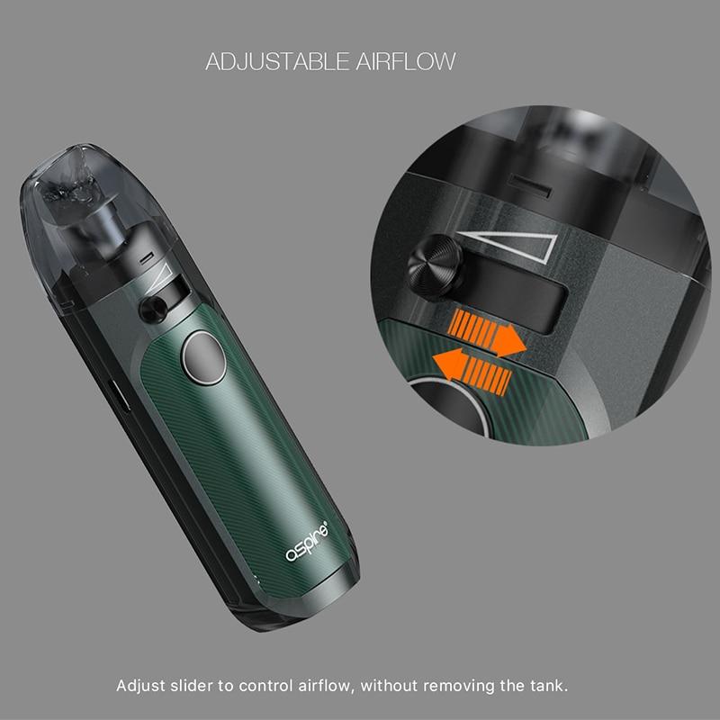Image 5 - In stock! Aspire Tigon AIO Kit 1300mAh Battery 4.6ml Vape Pod  with Tigon Coils AIO Pod Electronic Cigarette Kit Type C  ChargingElectronic Cigarette Kits