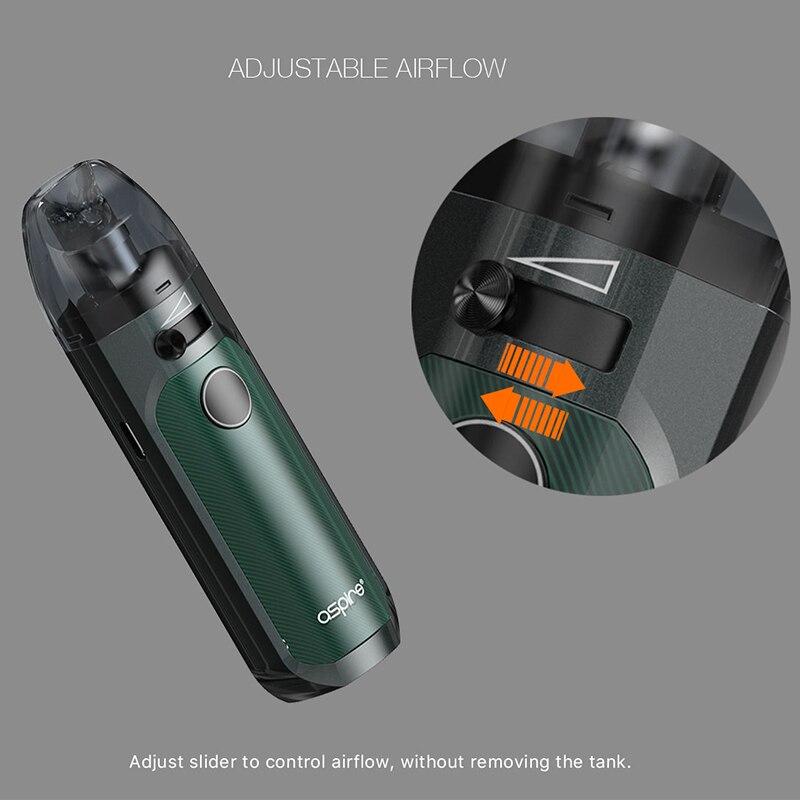 Image 4 - In stock! Aspire Tigon AIO Kit 1300mAh Battery 4.6ml Vape Pod  with Tigon Coils Electronic Cigarette Kit vs Aspire Breeze  NXTElectronic Cigarette Kits
