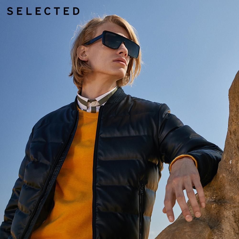 SELECTED Men's Winter Down Jacket Outwear Baseball Collar Duck Down Coat S | 419412549