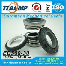 ED560 30 ( 560D 30 ) , 560D 30S ( ED560 30S ) Burgmann כפול פנים מכאני חותמות (חומר: CE/CA/NBR + SiC/SiC/NBR)