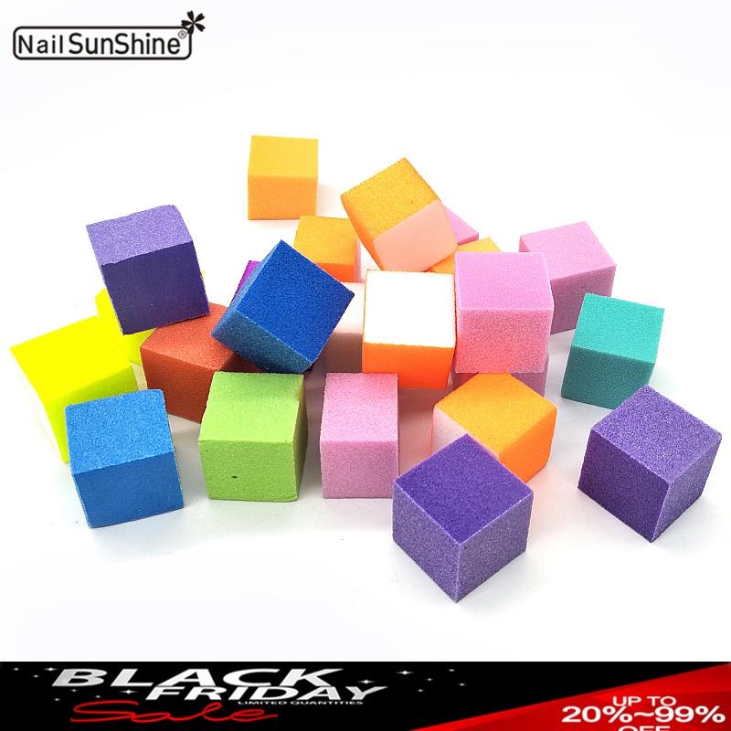 1 Bag Mini Nail File Block Sanding Sponge Buffer Irregular Lime A Ongle Polissage Grid Maquiagem Acrylic Nail Supplies Tools Set