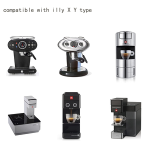 Image 2 - Capsulone/fit for illy X Y coffee Machine maker/STAINLESS STEEL Metal Refillable Reusable capsule fit for illy capsule pod cup