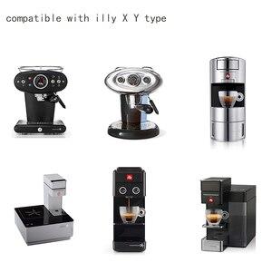 Image 2 - Capsulone/صالح لل illy X Y ماكينة القهوة صانع/الفولاذ المقاوم للصدأ المعادن إعادة الملء قابلة لإعادة الاستخدام كبسولة صالح لكأس كبسولة illy