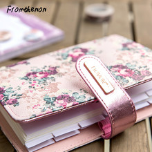 Rose Series Spiral Notebook Monthly Weekly Planner 2020 Agenda Organizer Personal Diary Vintage Stationery School Supplies