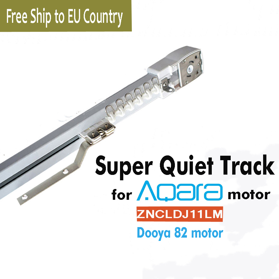 Customize Electric Curtain Track For Aqara/Dooya KT82 DT82 TN/TV/TS/LE,Smart Curtain Rails Control System,free Ship EU Country