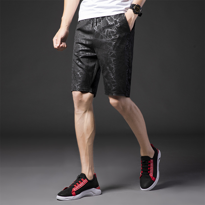 MEN'S Beach Pants Summer Loose-Fit Home Casual Sports Large Trunks Youth Loose-Fit Large Boxers