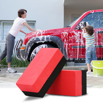 Magic Car Clay Stick Pad Sponge Block Cleaning Eraser Wax Pad Polishing Car Wash Tool Sponge Kitchen