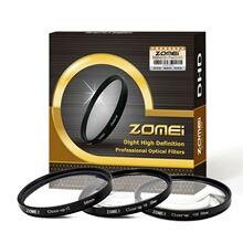 ZOMEI filtro de lente de primer plano Macro 52/55/58/62/67/72/77mm + 1 + 2 + 3 + 4 + 8 + 10 para cámara DSLR Canon Nikon Sony 500d 600d d3500