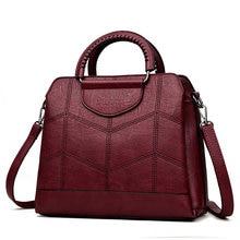Bolso de mano de cuero de lujo Bolsos De Mujer bolsos de diseñador bolsos de alta calidad bandolera para mujeres 2019 Sac a mano de las señoras principales bolsa
