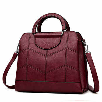 Tote Leather Luxury Handbags Women Bags Designer Handbags High Quality Crossbody Bags For Women 2019 Sac a Main Ladies Hand Bag - DISCOUNT ITEM  38% OFF All Category